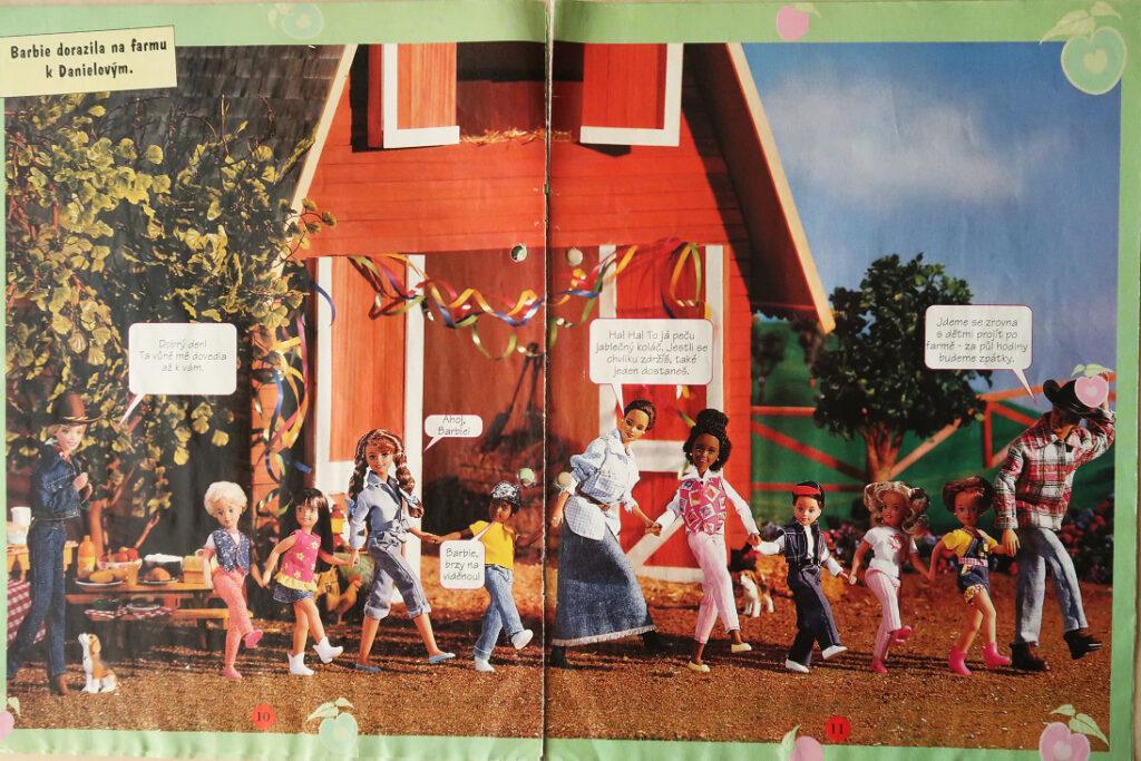 časopis Barbie 1999 - náhled