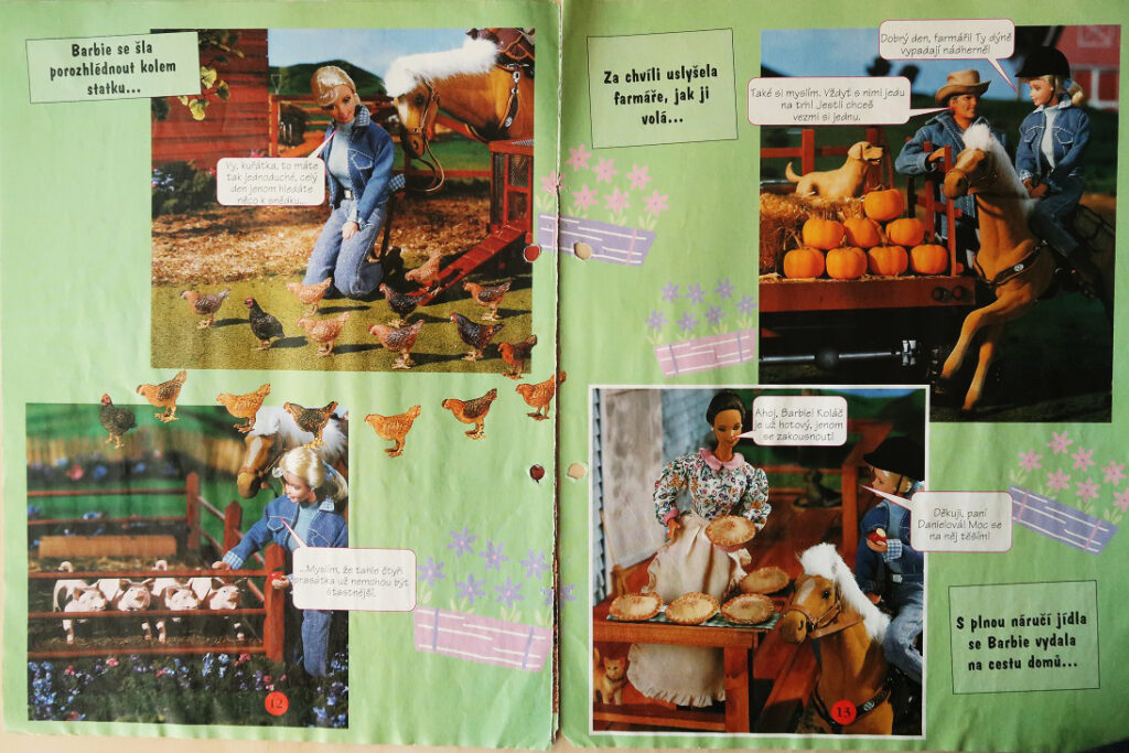 náhled časopis Barbie 1999