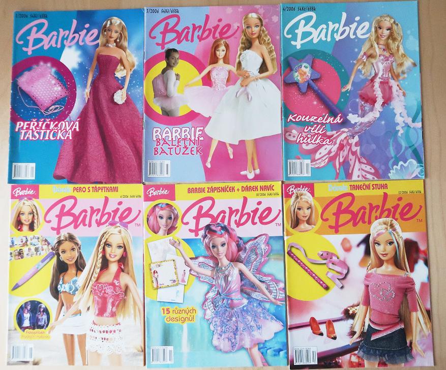 časopisy Barbie 2006