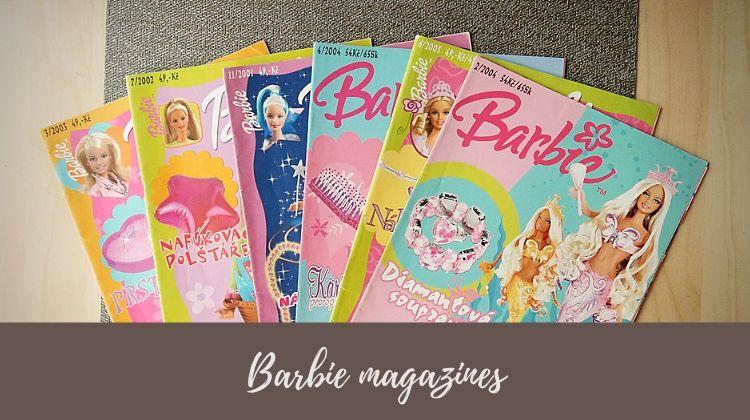časopisy Barbie