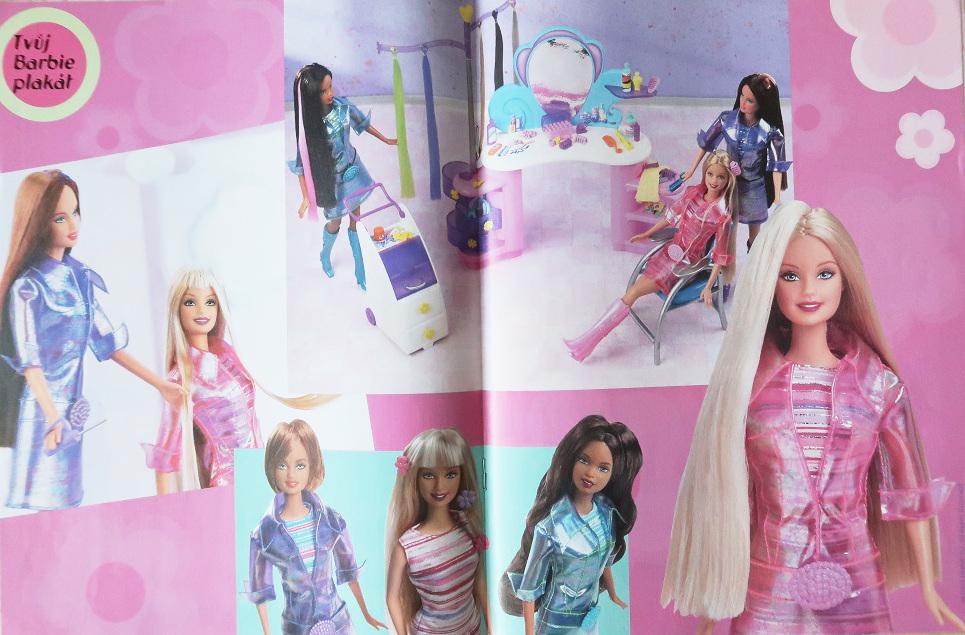 plakát Barbie Cut and Style 2003