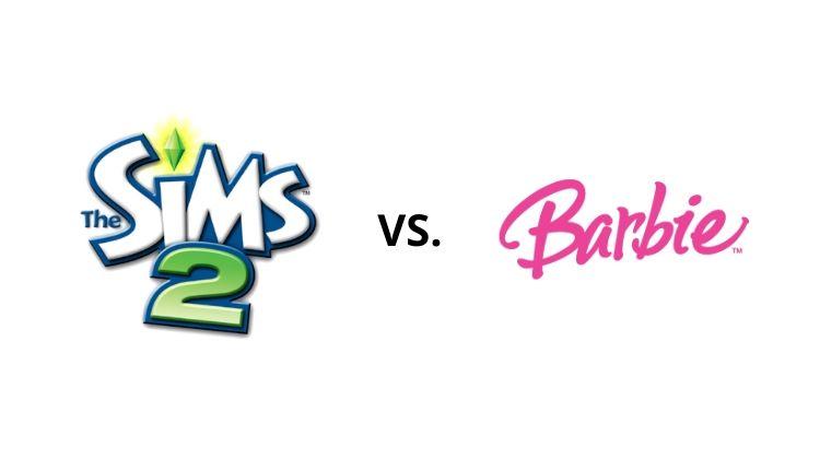 The Sims 2 vs. Barbie