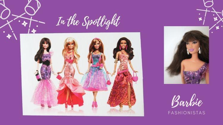 kolekce Barbie Fashionistas In the Spotlight