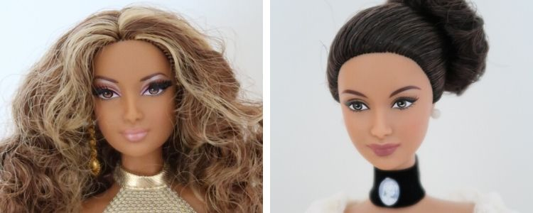 barbie tvář angel/goddess