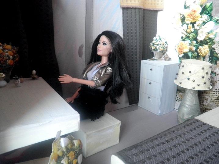 diy pokoj pro Barbie