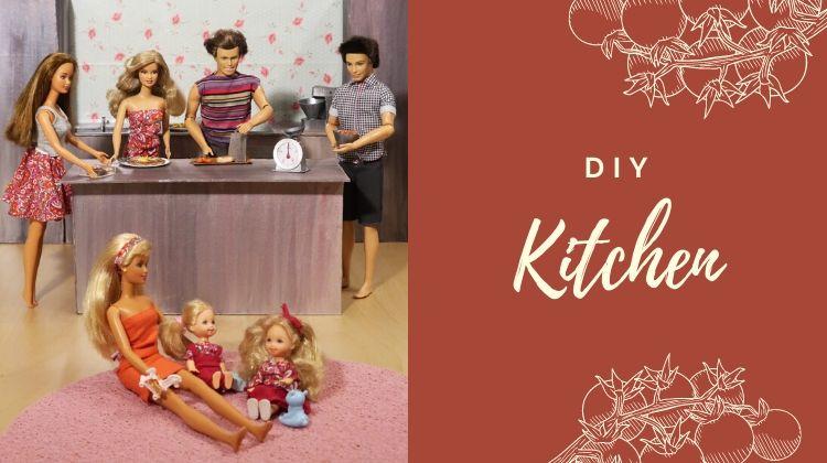 Barbie diy kuchyně