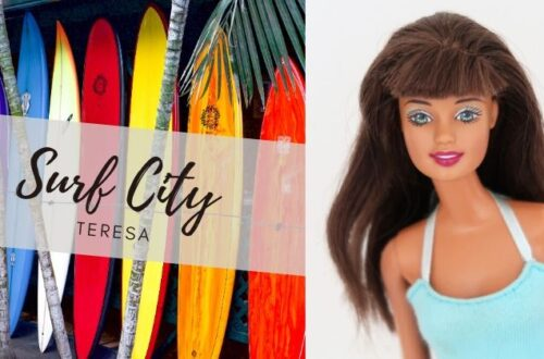 Barbie Surf City Teresa