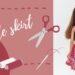 kolová sukně pro Barbie