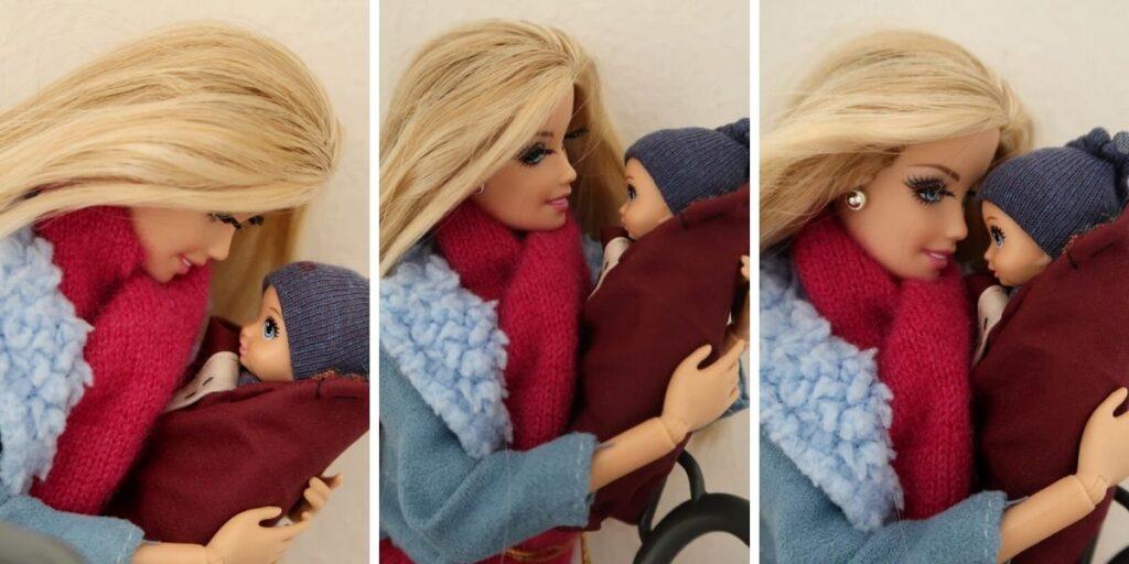 Barbie s mininkem