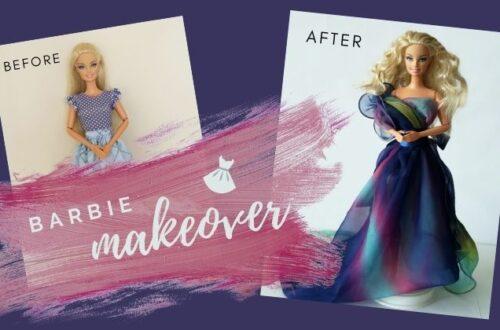 Barbie proměna