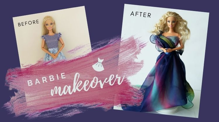 Barbie proměna