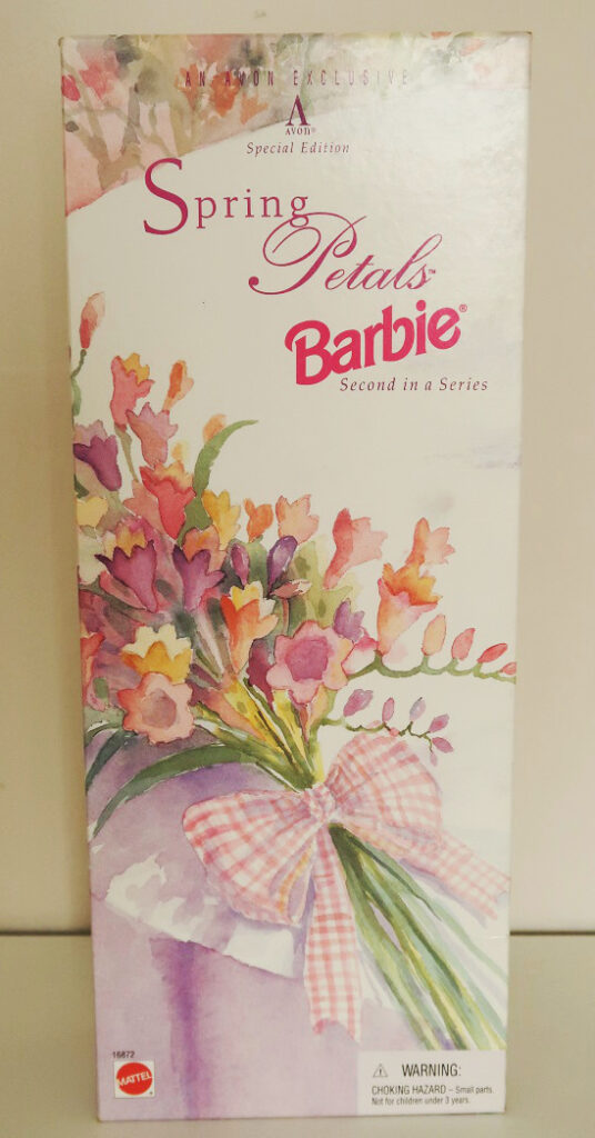 krabice od Barbie Spring Petals