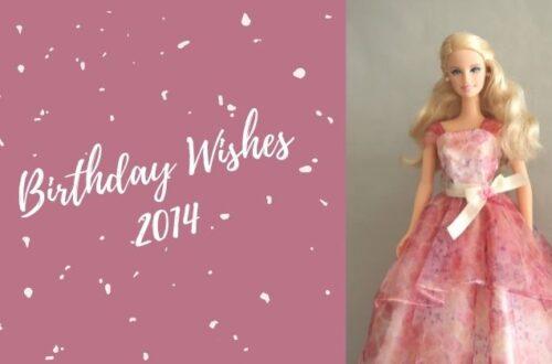 Barbie Birthday Wishes 2014